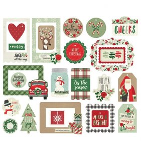 Die Cuts Tags & Frames Merry & Bright