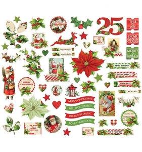 Die Cuts Simple Vintage Christmas