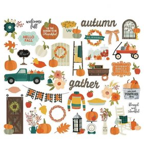 Die Cuts Fall Farmhouse