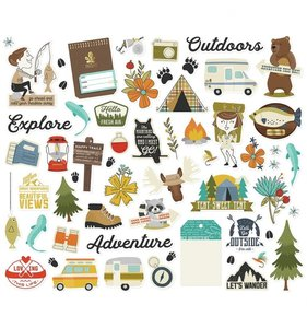 Die Cuts Happy Trails