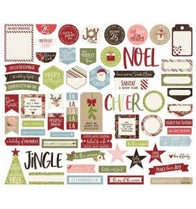 Die Cuts Journal Simple Stories Holly Jolly