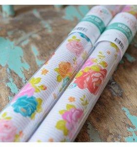 Papel Newsprint Floral