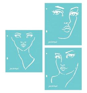 Set de máscaras Jane Davenport Faces