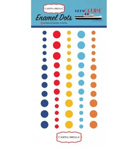 Enamel Dots Let's Cruise