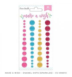 Enamel Dots Make a Wish