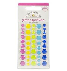 Enamel Dots Glitter Hello