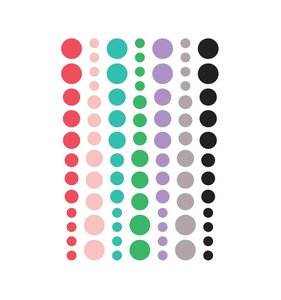 Enamels Dots Live Laugh Love