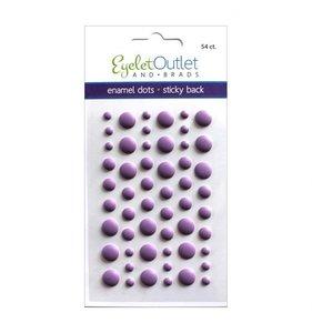 Enamel Dots Violeta Mate