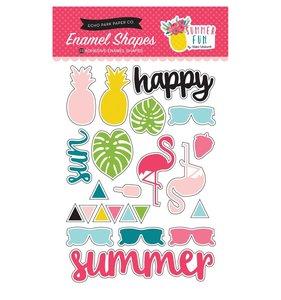 Enamel Shapes Summer Fun