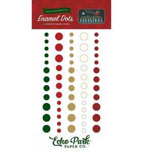 Enamel Dots Night Before Christmas