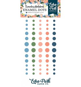 Enamel Dots Travellers Notebook Fancy Flora