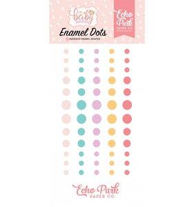 Enamel Dots Hello Baby Girl