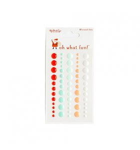 Enamel Dots Oh What Fun