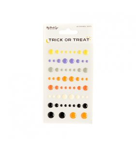 Enamel Dots Trick or Treat