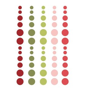 Enamel Dots Simple Stories Holly Jolly