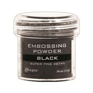 Polvos de embossing Ranger Supe Fine Black