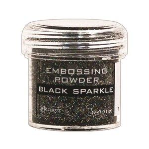 Polvos de embossing Ranger Black Sparkle