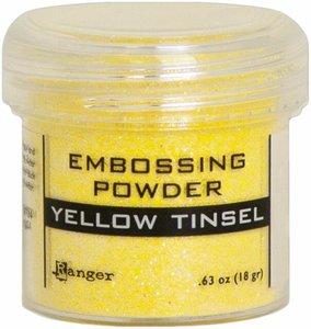 Polvos de embossing Ranger Yellow Tinsel