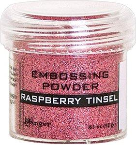 Polvos de embossing Ranger Raspberry Tinsel