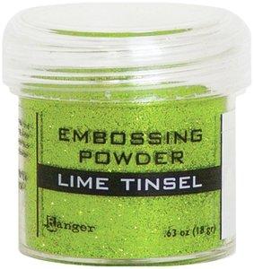Polvos de embossing Ranger Lime Tinsel