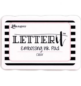 Tinta de embossing Ranger Letter It