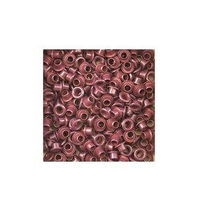 Eyelets 5 mm Burgundy 25 pk