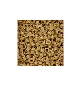 Eyelets 5 mm Lime Yellow 25 pk