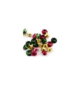 "Eyelets 1/8"" surtido metallic Christmas 25 pk"