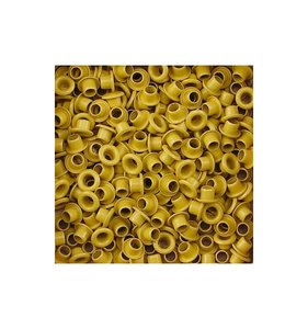 Eyelets 5 mm Yellow 25 pk