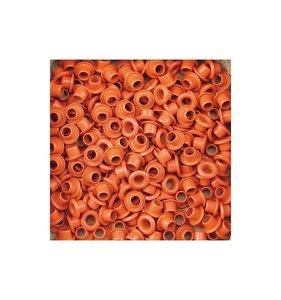 Eyelets 5 mm Orange 25 pk