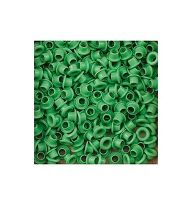 Eyelets 5 mm Light Green 25 pk