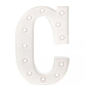 Marquee Love 25 cm C