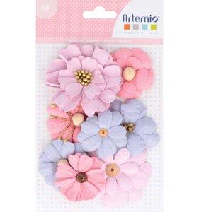 Set flores de papel Lovely Swan 1
