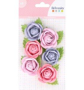 Set flores de papel Lovely Swan 2