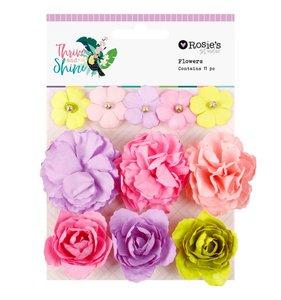Flores de papel Thrive and Shine