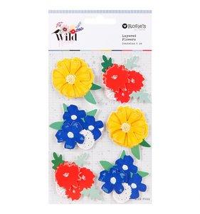 Pegatinas Flores 3D Wildflower