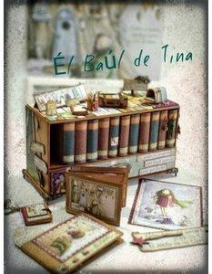 Kit Calendario de Biblioteca diseño de Tina Gómez