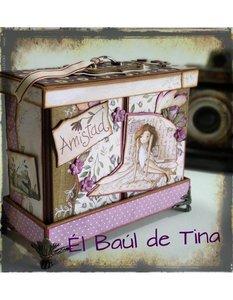 Kit Älbum Amistad diseño de Tina Gómez