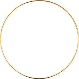 Aro metal dorado 20 cm col. Nos Casamos de Artemio