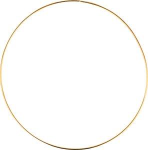 Aro metal dorado 25 cm col. Nos Casamos de Artemio