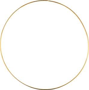 Aro metal dorado 30 cm col. Nos Casamos de Artemio