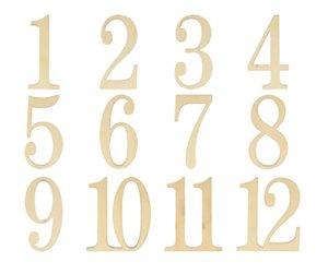 Números de madera Meses col. Nos Casamos de Artemio