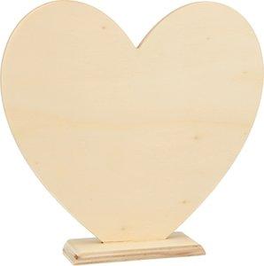 Corazón con soporte col. Nos Casamos de Artemio