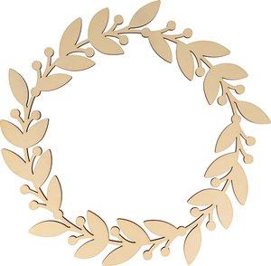 Corona Floral 35 cm col. Nos Casamos de Artemio