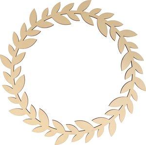 Corona Hojas 35 cm col. Nos Casamos de Artemio