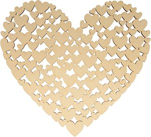 Base corazones 35 cm col. Nos Casamos de Artemio