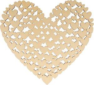 Base corazones 27 cm col. Nos Casamos de Artemio