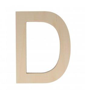 Letra de Madera D