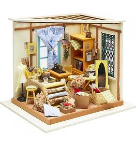 Kit habitación en miniatura Taller de sastre