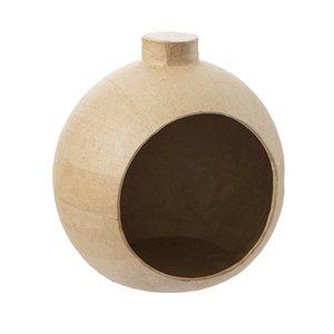Ornamento de papel maché 14,4 cm